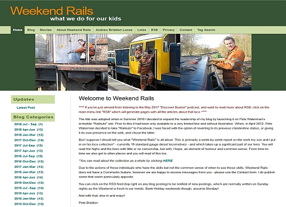 Weekend Rails