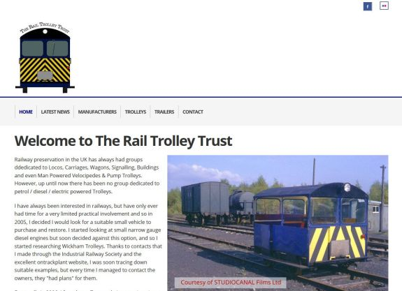 Rail trolley trust